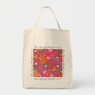 Japanese No.2 Grocery Tote Bag