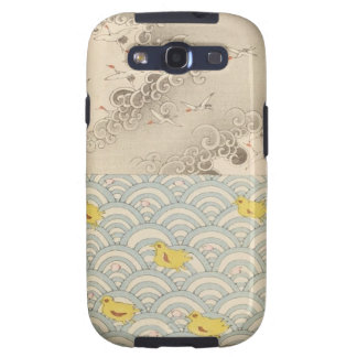 japanese ocean and  sky samsung galaxy s3 cases