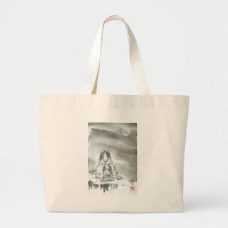 Japanese Oni Mountain Spirit Art Bag