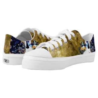 Japanese Opera Art Custom Zipz Low Top Kickers