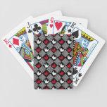 Japanese Origami Cranes Pattern (Orizuru) Bicycle Playing Cards