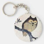 Japanese Owl Keychain