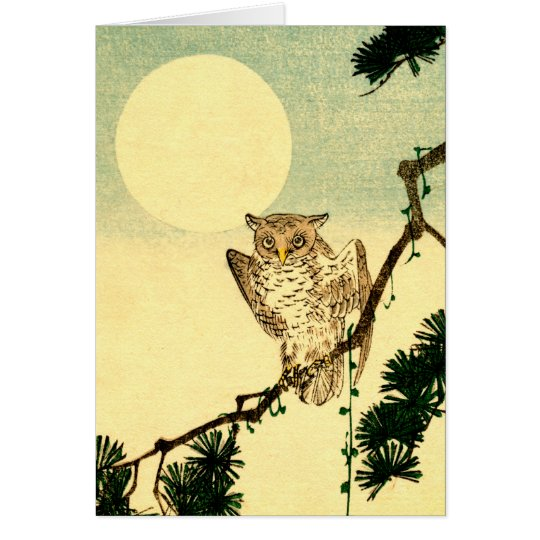 Japanese Owl no.1 Card