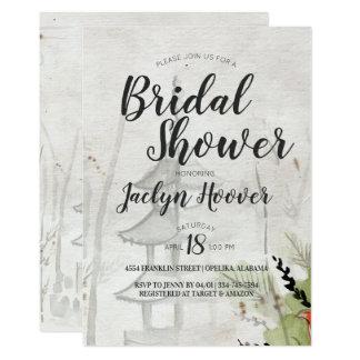 Japanese Pagoda Bridal Shower Card