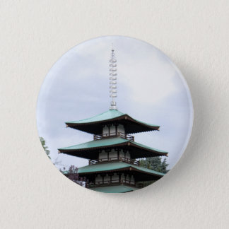 Japanese Pagoda Button