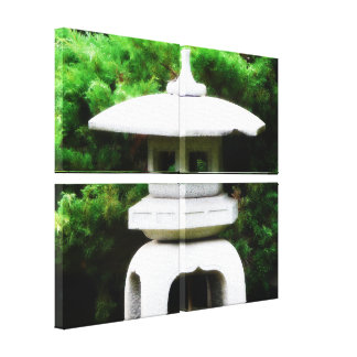 Japanese Pagoda Lantern Decoration Canvas Print