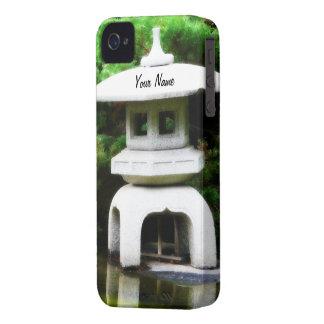 Japanese Pagoda Lantern Garden Ornament iPhone 4 Case-Mate Case