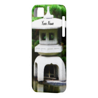Japanese Pagoda Lantern Garden Ornament iPhone SE/5/5s Case