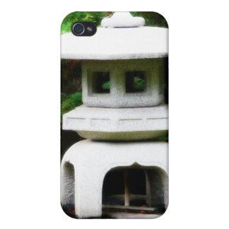 Japanese Pagoda Lantern Garden Statue iPhone 4/4S Case