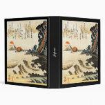 Japanese Painting c. 1800's 3 Ring Binders