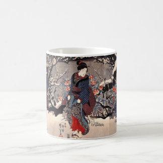 Japanese Painting c. 1800's Coffee Mug