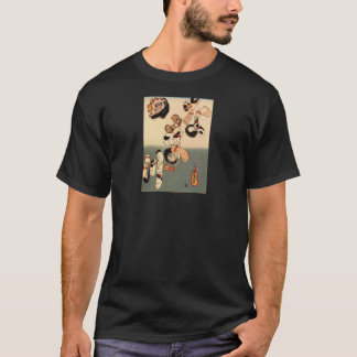 Japanese Painting c. 1800's T-Shirt