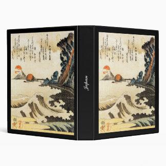 Japanese Painting c. 1800's Vinyl Binder