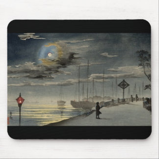 Japanese Painting circa 1915 Mouse Pad