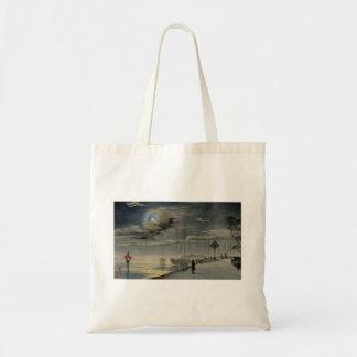 Japanese Painting circa 1915 Tote Bag