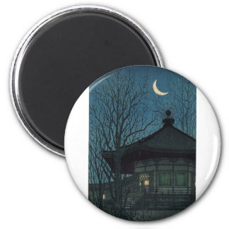 Japanese Painting circa 1928 2 Inch Round Magnet