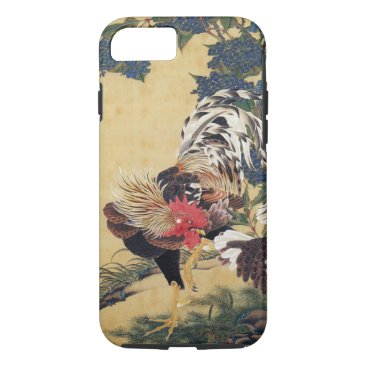 birthday Japanese painting Rooster Chinese Astrology Sign iPhone 7 Case