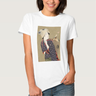 Japanese Painting. Woman with baby c. 1909 T Shirt