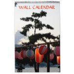 Japanese Paper Lantern Calendar