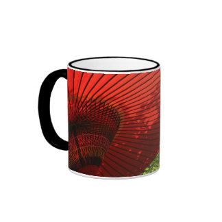 Japanese Parasol Ringer Mug