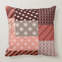 Japanese Patchwork Pillow