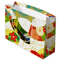 japanese pattern gift bag