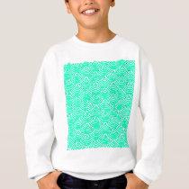Japanese Pattern in Green Sweatshirt