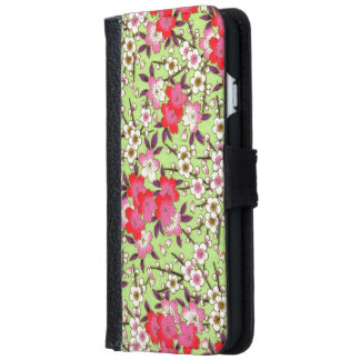 Japanese patterns iPhone 6/6s wallet case