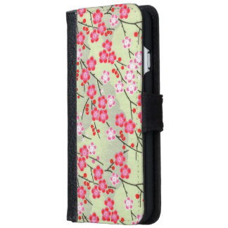 Japanese patterns wallet phone case for iPhone 6/6s