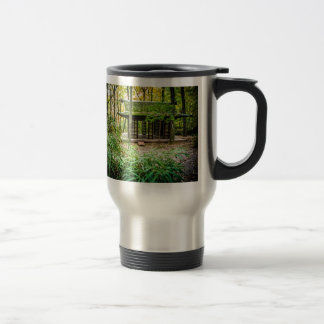Japanese Pavilion in the Forest Coffee Mugs