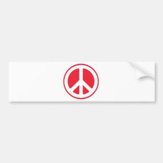 Japanese Peace Bumper Sticker