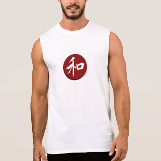 Japanese 'Peace' Light Muscle Tee