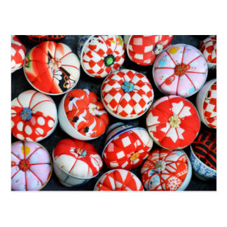 Japanese Pin Cushions Postcard