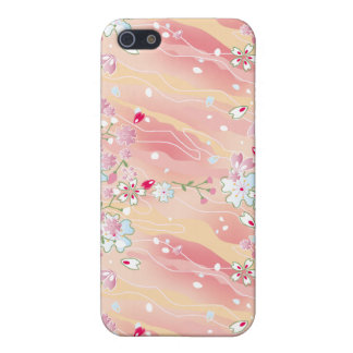 Japanese pink cherry blossoms iPhone 5 covers