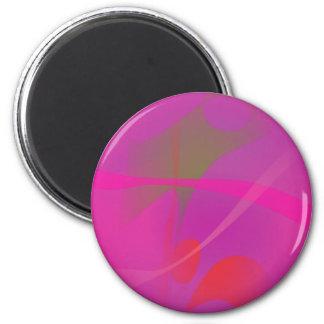 Japanese Pink Refrigerator Magnets