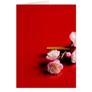 Japanese Plum Card