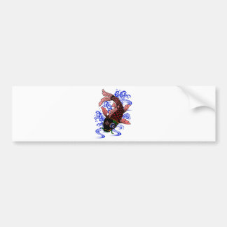 Japanese Poisson Bumper Sticker