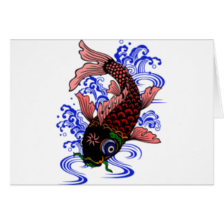 Japanese Poisson Card
