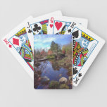 Japanese pond by E.A. Schneider Bicycle Poker Deck