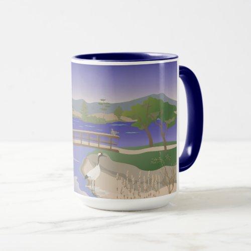 Japanese Pond Combo Mug