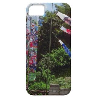 Japanese prayer flags iPhone SE/5/5s case