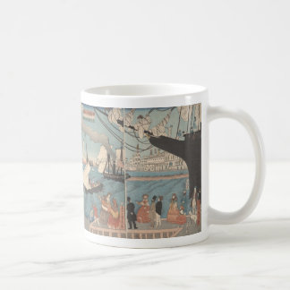 Japanese print, California - mug