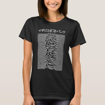 Japanese Pulsar Artwork as used by Joy Division on T-Shirt