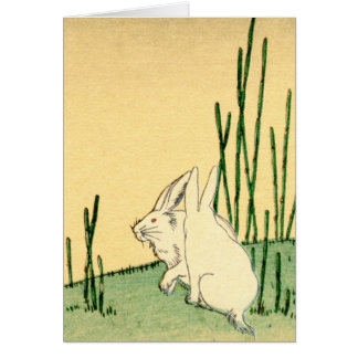 Japanese Rabbits no.2 Card