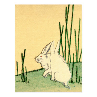 Japanese Rabbits no.2 Postcard