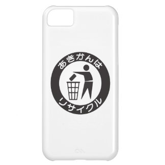 Japanese Recycle Symbol iPhone 5C Covers