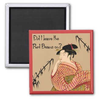 Japanese Red Beans magnet