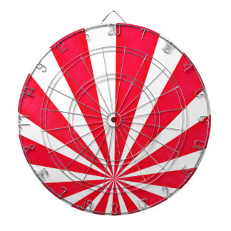 Japanese Red Burst Dartboard