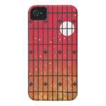 Japanese red iPhone 4 Case-Mate case