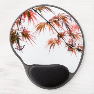 Japanese Red Maple Art Photography Gel Mouse Pad